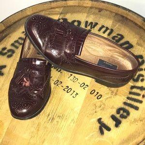 (BOSTONIAN CLASSICS) Brown Tassel Loafers 10